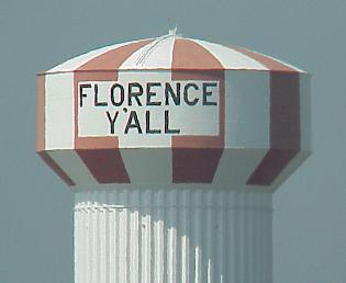 Florence water tower
